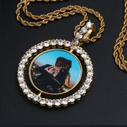 Custom INFMUS Double Sided Photo Pendant