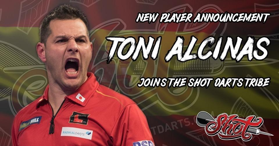Toni Alcinas Joins Shot Darts