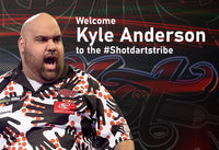 Kyle Anderson signs with Shot Darts