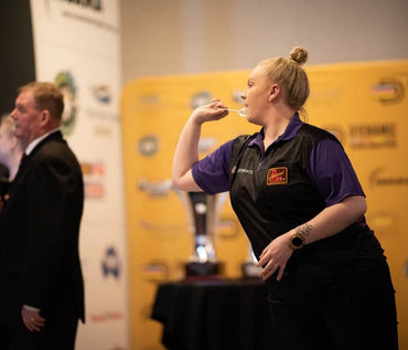 Shot's Tori Kewish Cleans Up the Australian Darts Open