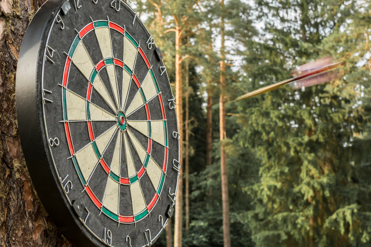 Where to hang your dartboard