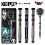 Shot Pro Series-Chris White Soft Tip Dart Set-90% Tungsten Barrels - shot-darts