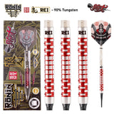 Ronin Rei Soft Tip Dart Set-90% Tungsten Barrels - shot-darts