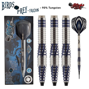Birds of Prey Falcon Soft Tip Dart Set-90% Tungsten Barrels - shot-darts