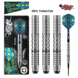 Shot Pro Series-Daniel Larsson Soft Tip Dart Set-80% Tungsten-18gm