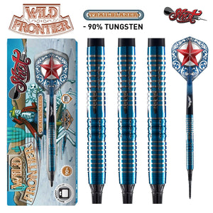 Wild Frontier Trailblazer Soft Tip Dart Set-90% Tungsten Barrels - shot-darts