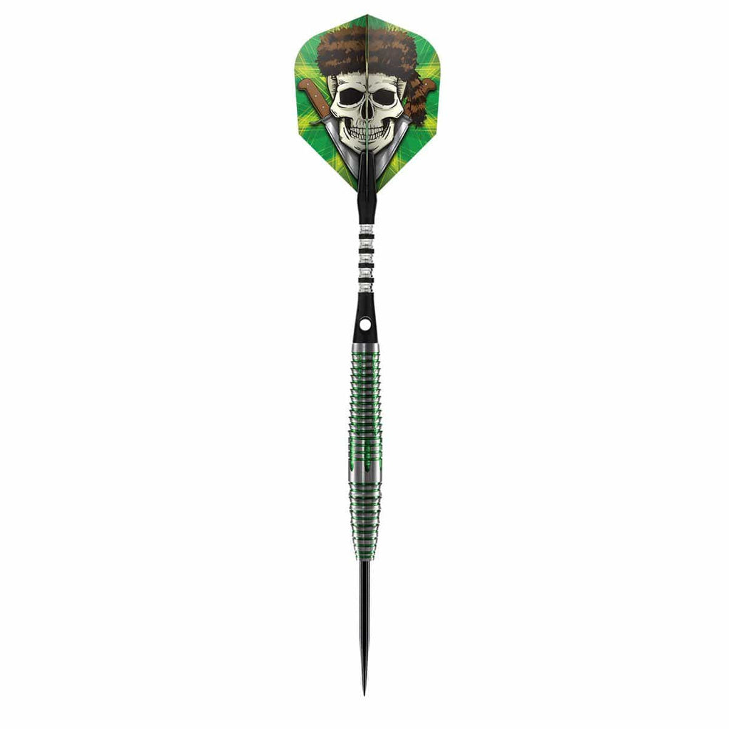 Wild Frontier Trapper Steel Tip Dart Set-80% Tungsten Barrels - shot-darts