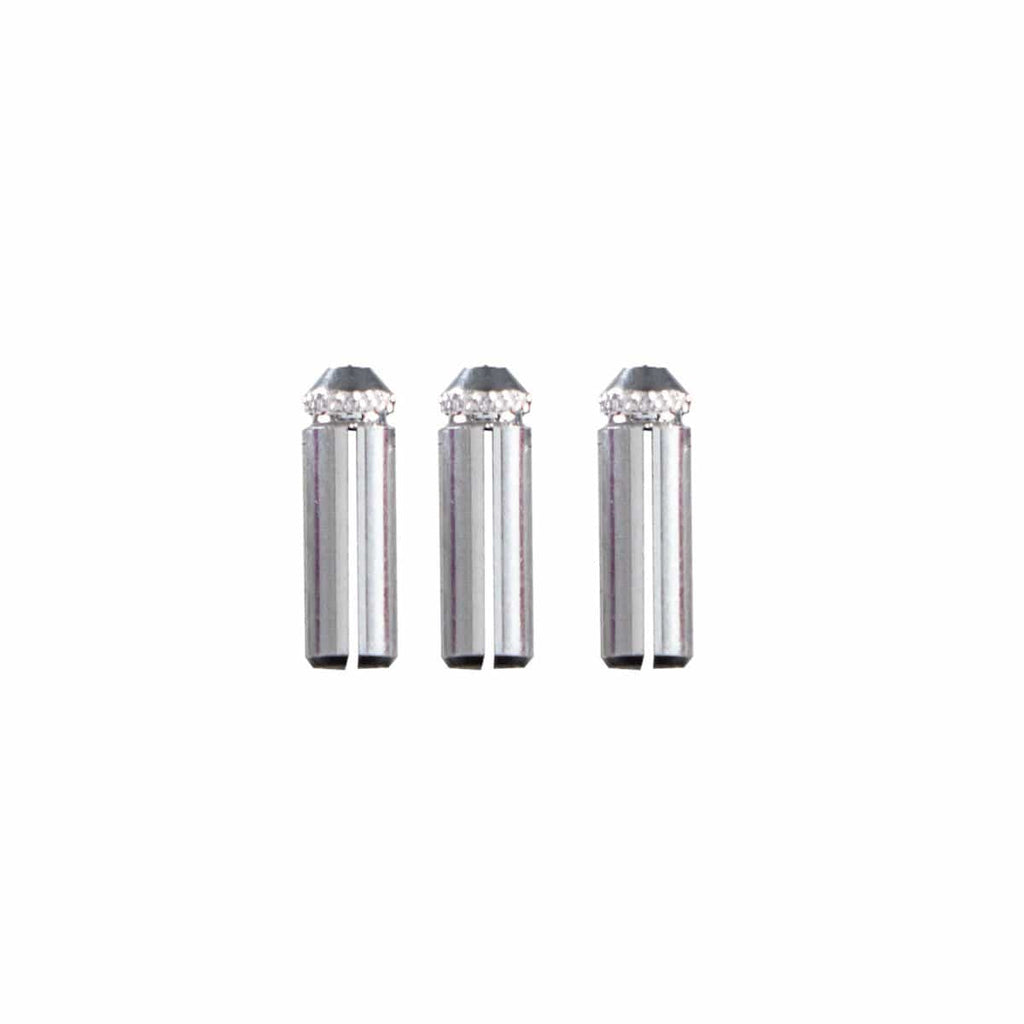 Aluminium flight protectors: Silver - shot-darts