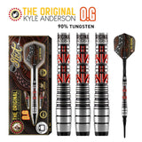 "Shot Kyle Anderson The Original ""O.G.""-Soft Tip Dart Set-90% Tungsten Barrels"