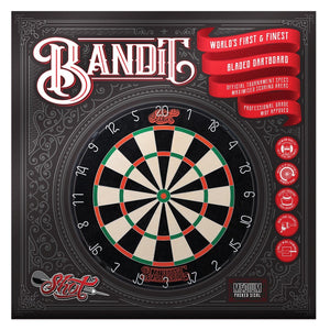 Shot Bandit Bristle Dartboard 2019 - shot-darts