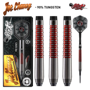 Shot Pro Series-Joe Chaney Soft Tip Dart Set-90% Tungsten Barrels - shot-darts