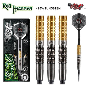 Shot Darts Pro Series-Rob Heckman Dragon Soft Tip Dart Set