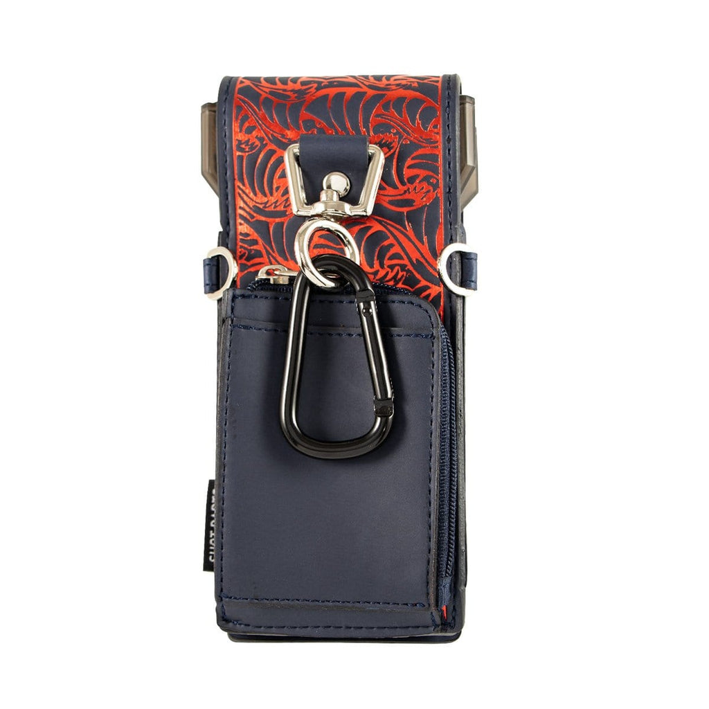 Shot Darts Insignia Dart Case - Ronin Dark Blue & Red - shot-darts