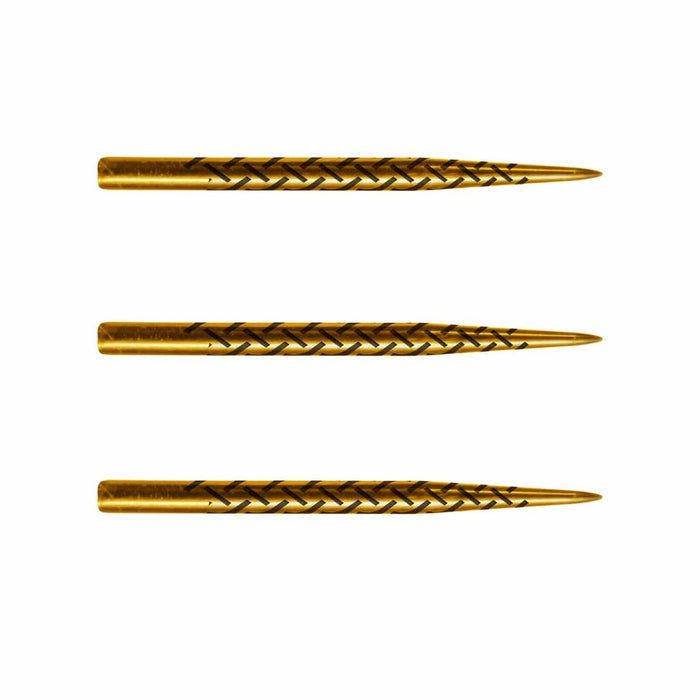 Kapene Gold Titanium Coated Steel Tip Points-35mm