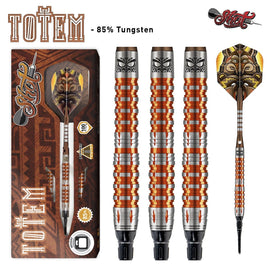 Totem 3 Series Soft Tip Dart Set-85% Tungsten - shot-darts