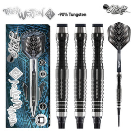 Tribal Weapon 4 Series-Soft Tip Dart Set-90% Tungsten Barrels - shot-darts