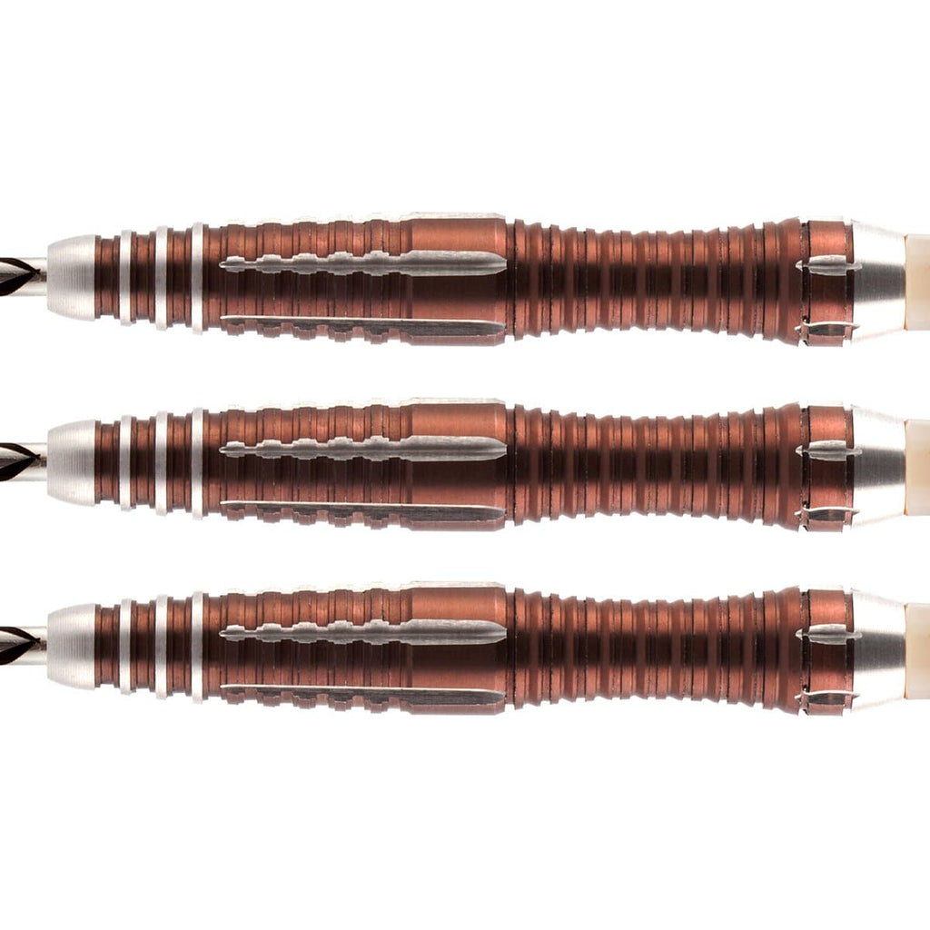 Tribal Weapon 1 Series Steel Tip Dart Set-90% Tungsten Barrels - shot-darts