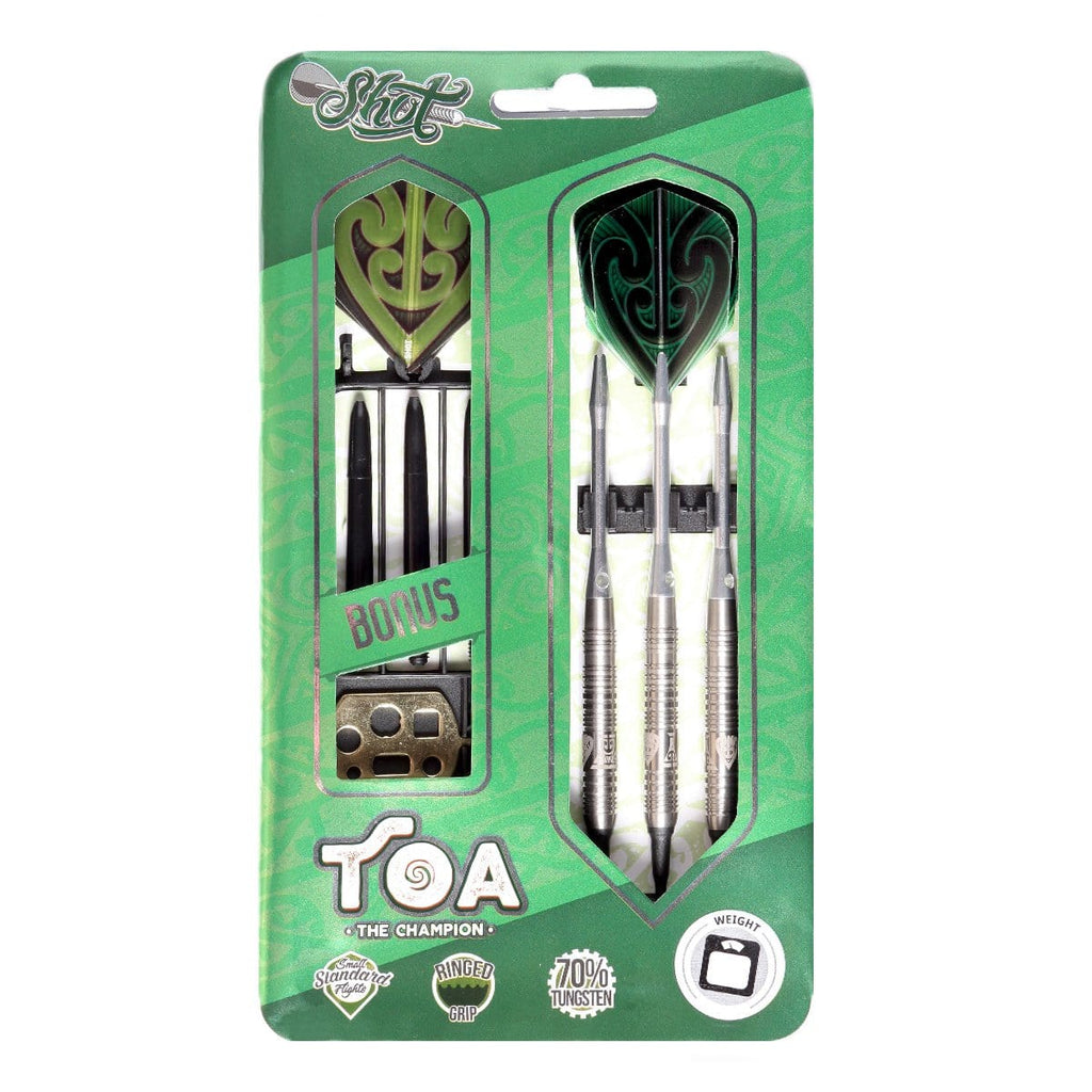 Toa Soft Tip Dart Set-70% Tungsten Barrels - shot-darts