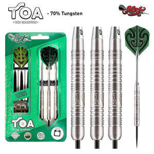 Toa Steel Tip Dart Set-70% Tungsten Barrels - shot-darts