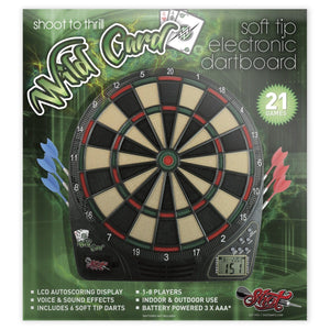 Wildcard Soft Tip Dart Game - shot-darts
