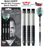 Max Hopp Soft Tip Dart Set-95%-Tungsten - shot-darts