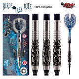 Birds of Prey Kite Soft Tip Dart Set-80% Tungsten Barrels - shot-darts