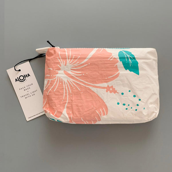 Aloha Collection: Mini Guava Hibiscus Pouch