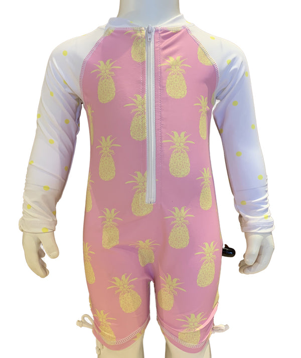 Snapper Pineapple Sunsuit Infant