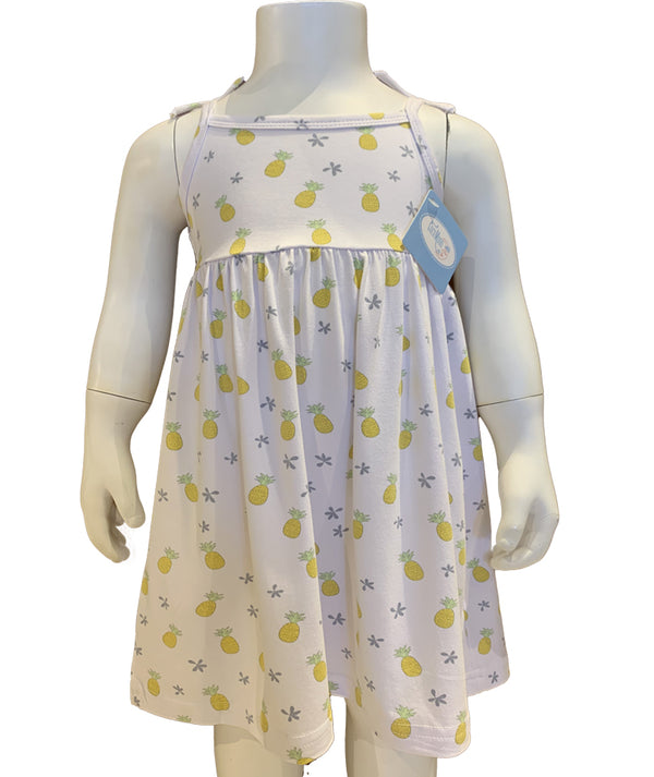 Coco Pineapple Toddler Dress