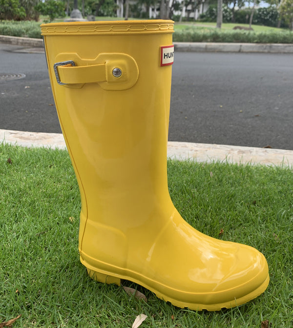 Kids Hunter Boots-Sunlight