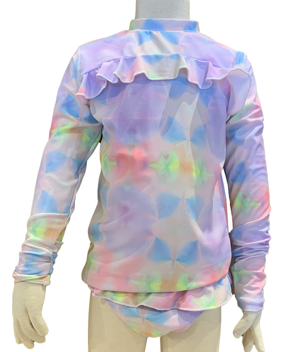 Shade Rainbow Tye Dye Rashguard Set Infant