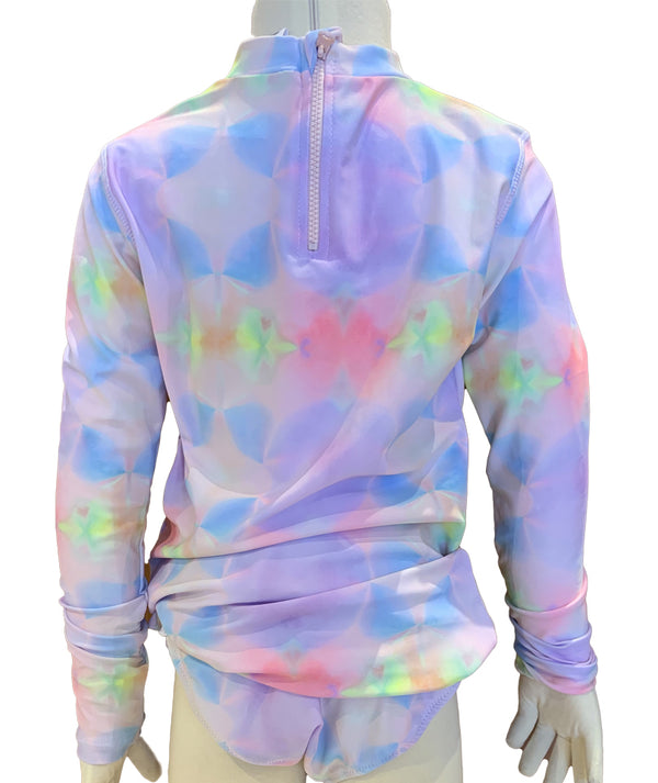 Shade Rainbow Tye Dye Rashguard Set