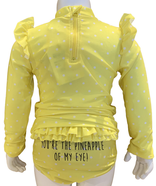 Pineapple of My Eye Rashguard Set