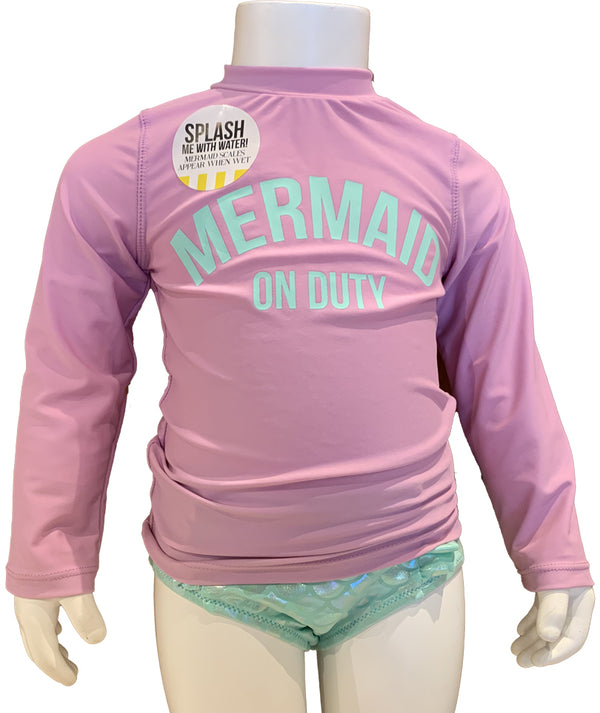 Shade Mermaid on Duty Rashguard Set Infant