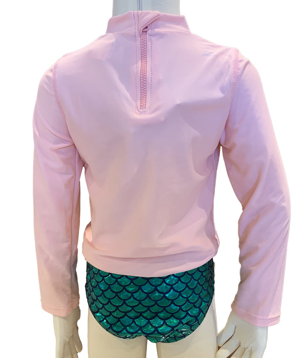 Shade Mermaid Squad Rashguard Set Infant