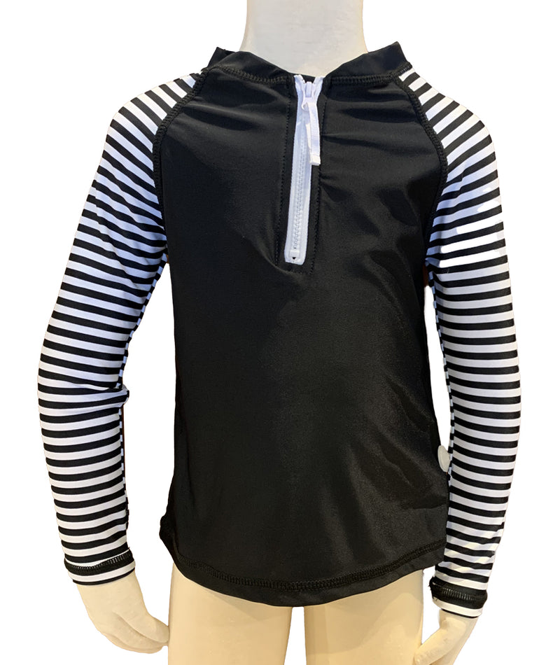 Snapper Zebra Long Sleeve Rashguard