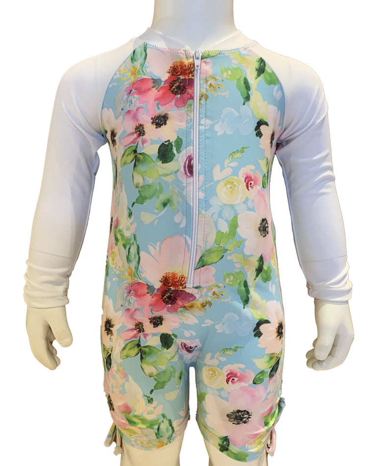 Snapper Watercolor Sunsuit Infant