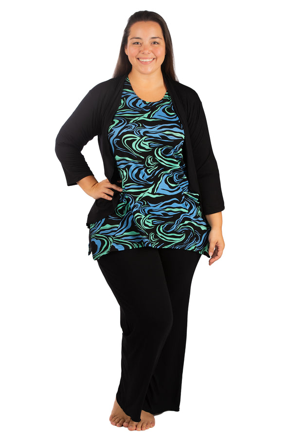 KP1518 BLACK PLUS SIZE