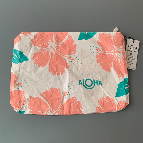 Aloha Collection: Hibiscus Guava Mid Pouch
