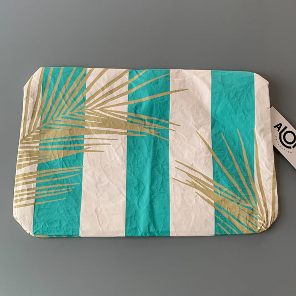 Aloha Collection: Harmony Ocean Stripes Mid Pouch