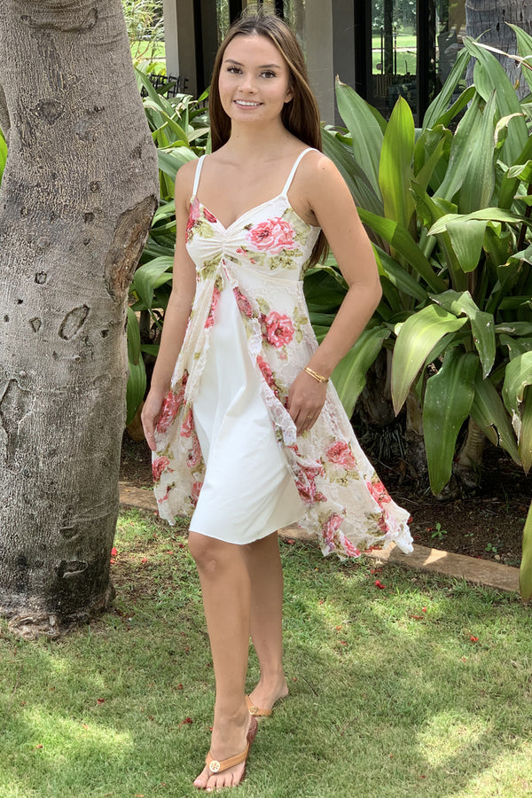 Chez Chantrelle Leilani Dress Ivory