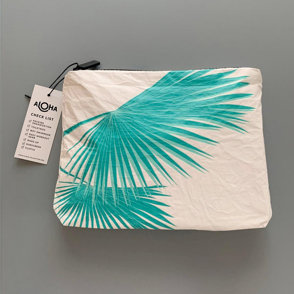 Aloha Collection: Small Tropical Fan Palms Pouch