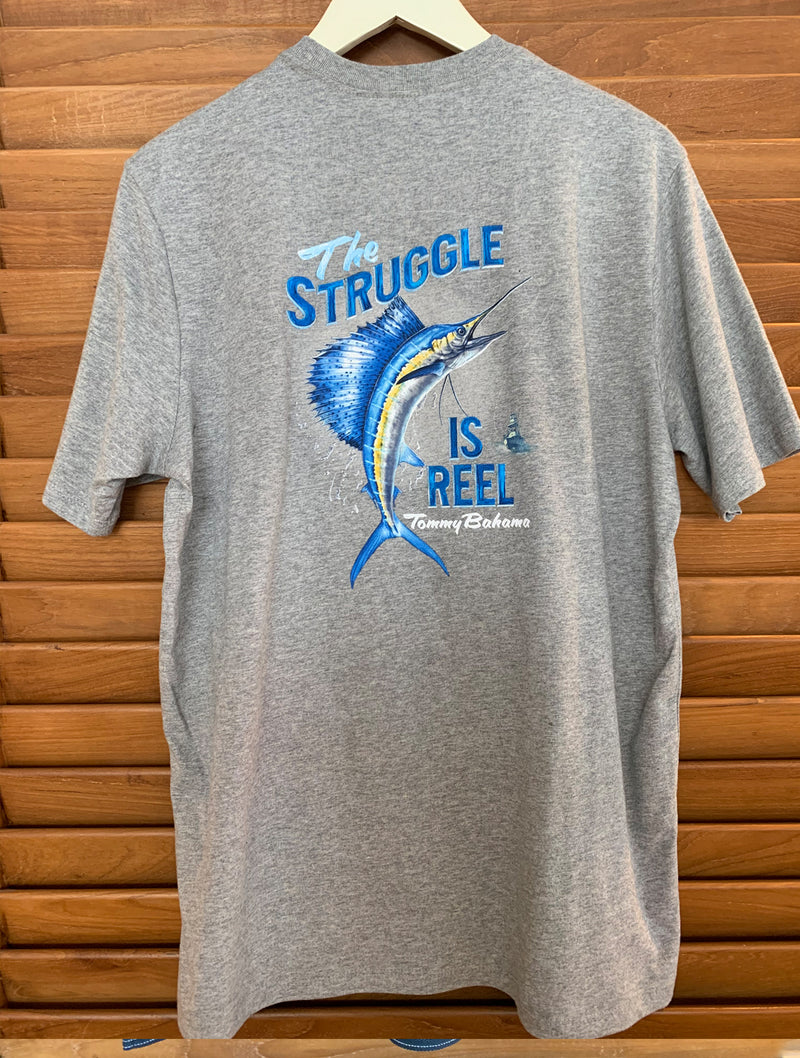 TR220954 The Struggle is Reel Tee
