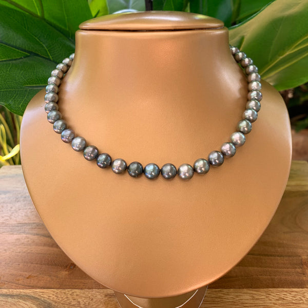 Tahitian Pearl Necklace 14k Clasp