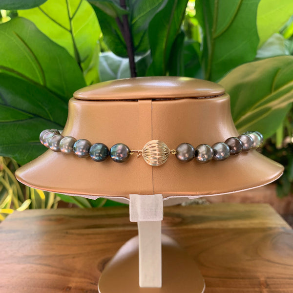 Tahitian Pearl Strand Necklace