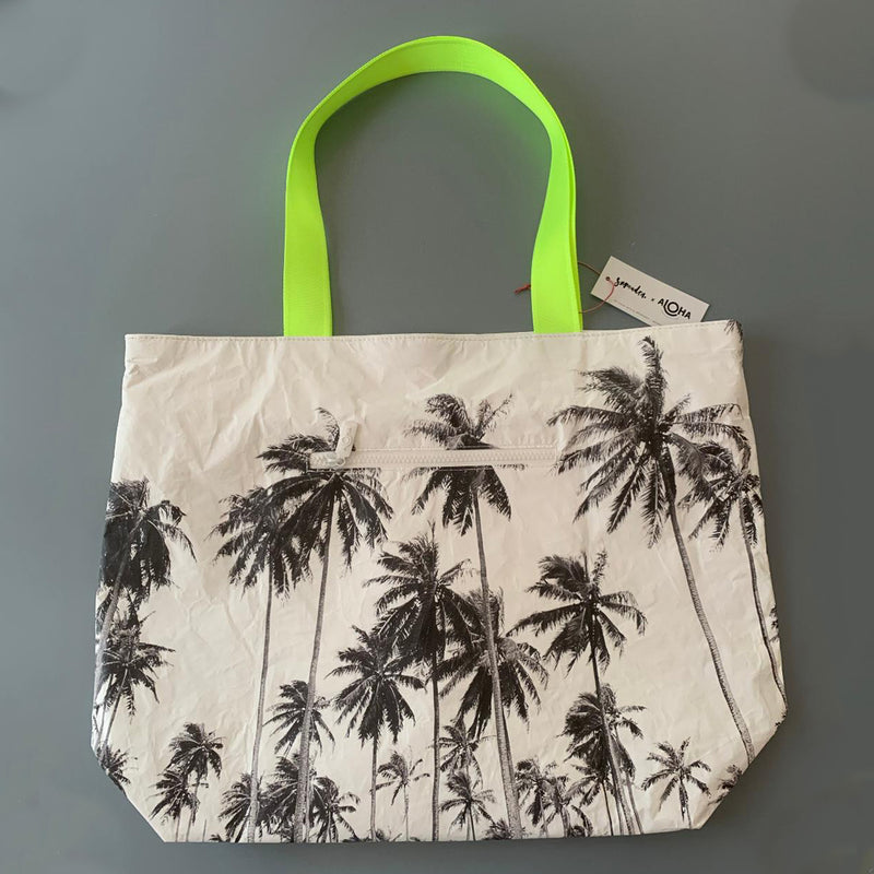 Aloha Collection: Tote Wailua Samudra Neon Day Tripper
