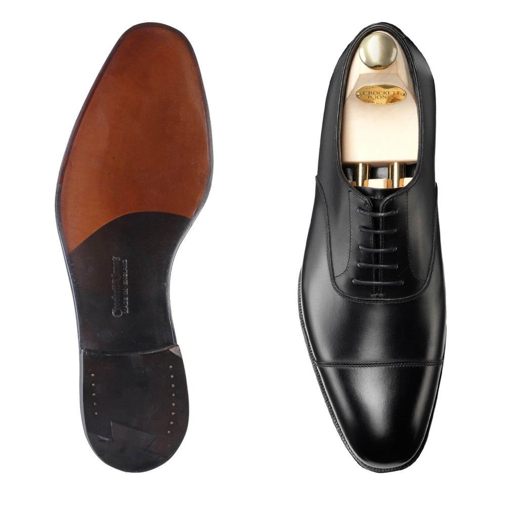 Handgrade Crockett & Jones Audley Black Calf