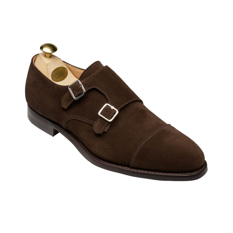 Lowndes Oak suede, city sula, Crockett & Jones