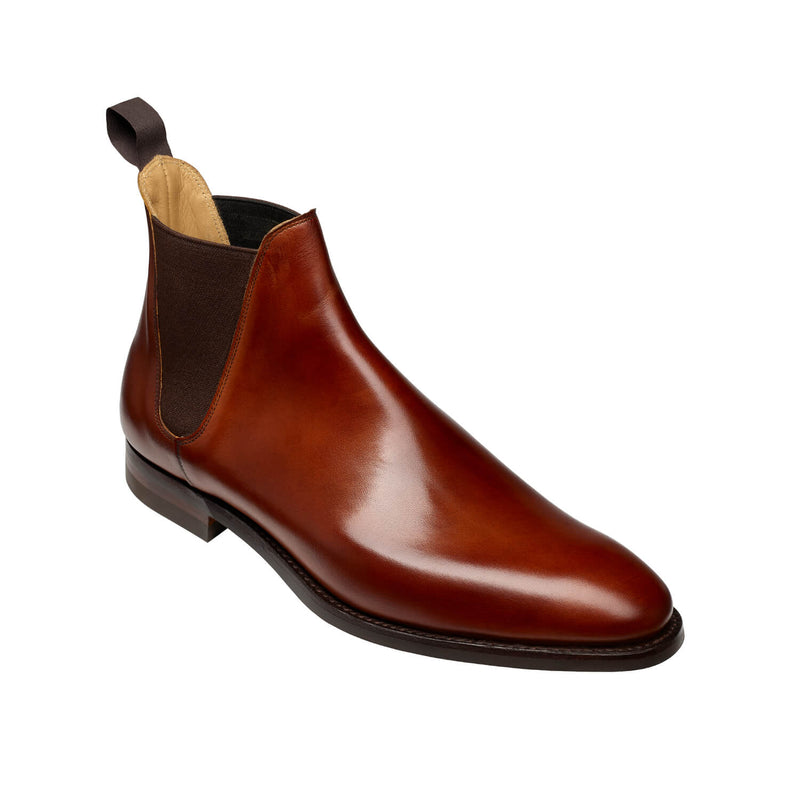 Chelsea VIII Chestnut Burnished Calf, Crockett & Jones