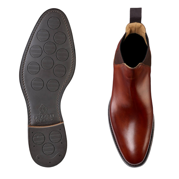 Chelsea VIII Chestnut Burnished Calf